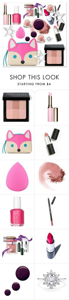 """What's in your makeup bag?"" by aria-star ❤ liked on Polyvore featuring beauty, Bobbi Brown Cosmetics, Clarins, Sigma Beauty, NARS Cosmetics, Essie, Clinique, Manic Panic, Topshop and BeautyTrend"