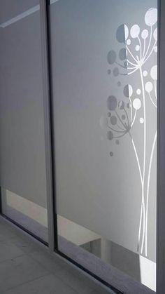 Vinilo esmerilado en ventanas