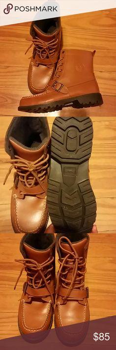 Ralph Lauren Polo Boots Ralph Lauren Boots size 6 in boys never worn. Lost the receipt and can not return. Ralph Lauren Shoes Boots