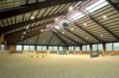 Now this is an arena! dream-barn