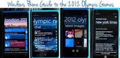 Windows Phone Guide to the 2012 Olympic Games {Recipe: Zesty Peach Glaszed Chicken Wings} - dineanddish.net