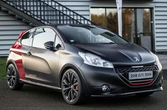 Peugeot 208 GTi 30th Anniversary. In love with small sporty hatchbacks like this one