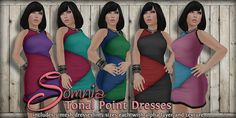 .: Somnia :. Tonal Point Dresses Ad Exclusive to Free*Style Shop, via Flickr.