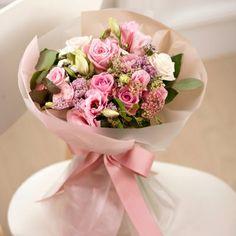 분홍색 부케 Pink bouquet