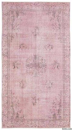 Medium Size Overdyed Rugs | Kilim Rugs, Overdyed Vintage Rugs, Hand-made Turkish Rugs, Patchwork Carpets by Kilim.com