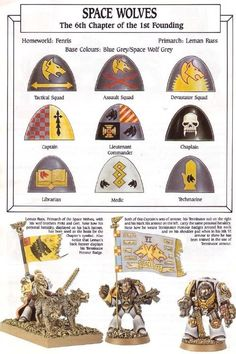 pre heresy space wolves - Google Search