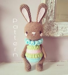 Amigurumi Easter Bunny Pattern by Loopie and Bean
