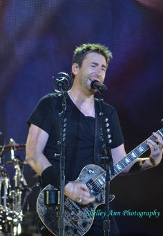 Nickelback - Chad Kroeger: May 2015 Sydney