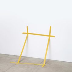 "Marcius Galan (b - ""Isolante"", Painted iron. Contemporary Sculpture, Contemporary Paintings, Land Art, Nathalie Du Pasquier, Bokashi, Artistic Installation, Space Gallery, Conceptual Art, Sculpture Art"