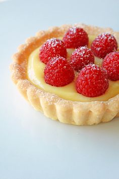 """Lemon Curd Shortbread Tartlet September 30, 2013 by Fanny 