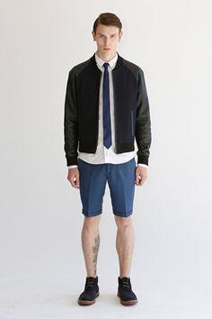 bespoken - spring 2014 menswear - spring 2014 rtw - new york fashion week Spring 2014, Spring Summer, Summer 2014, Trendy Outfits, Fashion Outfits, New York, Tie Shorts, Summer Lookbook, Mens Clothing Styles
