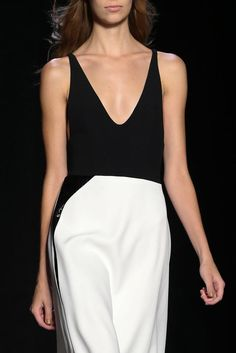 *.* Narciso Rodriguez, S/S 2015. Black & White