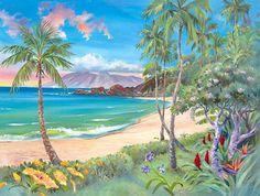 Kaanapali - Hawaiian Art by Jim Kingwell