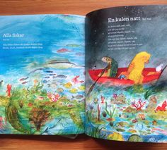 two poems I illustrated for Natur og Kultur publishers in Sweden.