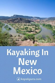 If you're looking for a great place to kayak, then look no further than the Land of Enchantment. With dozens of lakes, reservoirs, plus a few major rivers, there's plenty to explore! Kayak For Beginners, Kayak Rentals, Vacation Trips, Vacations, Kayak Camping, Land Of Enchantment, Adventure Activities, Picnic Area, Day Hike