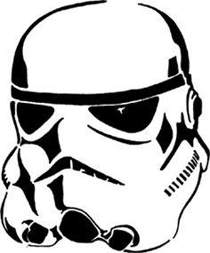 Hipster Star Wars Stencils- this is the party you've been looking for Star Wars Stencil, Stencil Art, Stencil Patterns, Stormtrooper Pumpkin, Black Vinyl Windows, Scroll Saw Patterns, Star Wars Party, Pyrography, Vinyl Decals