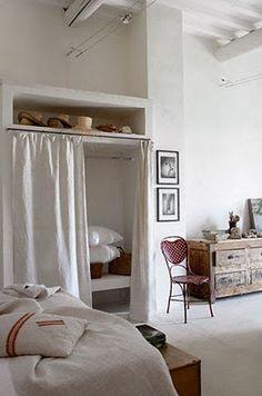 ...Amores Bohemios...: Armarios de obra para el dormitorio...