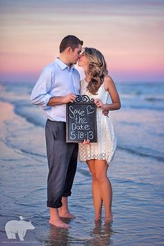 18 Super Save The Date Photo Ideas ❤ See more: http://www.weddingforward.com/save-the-date-photo-ideas/ #weddings #photography