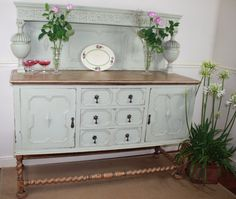 Beautiful Solid Oak Vintage Sideboard / Dresser by Restored2bloved, £390.00