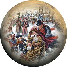 Мир рукоделия Лидии Костиной и не только...: Круглые новогодние открытки.часть 2