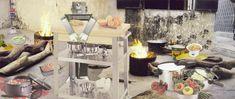 Fatimah Tuggar, Robo Makes Dinner (2000). Computer montage (inkjet on vinyl), 108 × 45 in. Courtesy of BintaZarah Studios, New York.