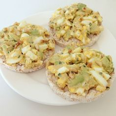 Avocado ei salade eetclean.nl mee neem lunch