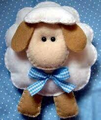 más y más manualidades: Crea un bello adorno de oveja para atraer la abundancia en el nuevo año