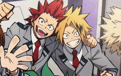 Kirishima and Kaminari