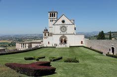 Basilica superiore, Assisi, Umbria