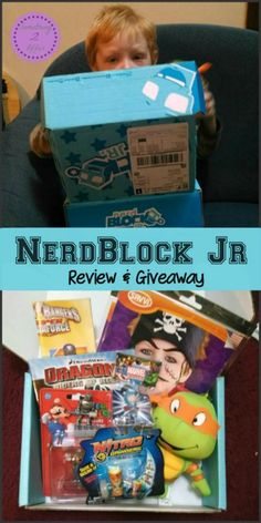 Nerd Block Jr Review and Giveaway