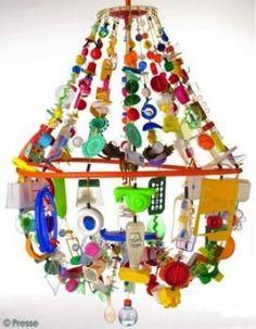 Art plastique - Shopping récup lustres - ELLE.fr