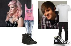 """""""Lincoln High Plotting Set."""" by misscooldog12 ❤ liked on Polyvore"""