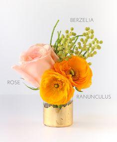 DIY Gold Foil Vase | The Crafted Life