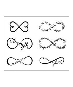 Another great find on #zulily! Chin Up Tattoos - Set of Two by Tattify #zulilyfinds