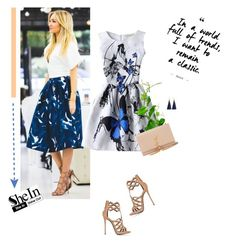 """""""I want to remain a classic."""" by stream ❤ liked on Polyvore featuring Giuseppe Zanotti and Yves Saint Laurent"""