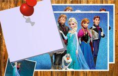 Preciosas Invitaciones de Frozen para Imprimir Gratis.