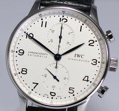 IWC Portuguese Chronograph Automatic / IW 371417