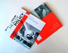 CHP Brochure by Nicole Kraieski, via Behance