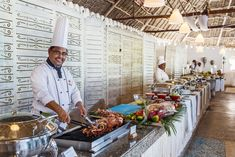 This the life. Mountains of fresh seafood. Live cooking stations. Wonderful moments. #weddingideas  #beachwedding #beachweddingideas #honeymoon #bride #zanzibar #diamonds #allinclusive