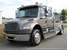 2007 Freightliner M2 106 Sports Chassis Business Class Mercedes Diesel Customer Hauler View more information at www.davis4x4.com