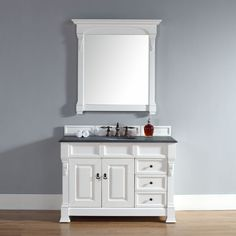 James Martin Furniture 48-Inch Brookfield Cottage Single Drawer Vanity (48 Brookfield Cot Dra Van -