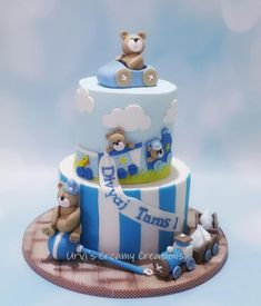 1st Birthday Cake by Urvi Zaveri