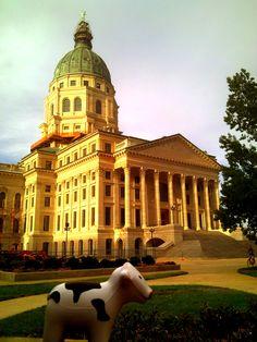 Capitol Cow: Topeka, KS