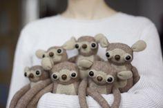 handmade teddy bears made by MUTAtoys Vintage Teddy Bears, Etsy Seller, Creatures, Textiles, Toys, Baby, Handmade, Animals, Animais