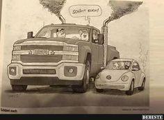 In Amerika war das mit VW ganz wichtig... | Lustige Bilder, Sprüche, Witze, echt lustig