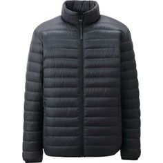 MEN ULTRA LIGHT DOWN JACKET in Dark Green by UNIQLO // This slim, down jacket is incredibly lightweight and warm. The simple design looks great on everyone. Travels easily in its attached pouch. Best Travel Gifts, Uniqlo Men, Online Fashion Stores, How To Slim Down, Downlights, Black Men, What To Wear, Kids Outfits, Winter Jackets