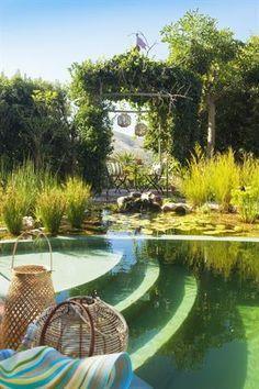 Garden and Home Outdoor Living Areas, Living Spaces, Garden Planning, Outdoor Gardens, Pond, Golf Courses, 27 September, Home And Garden, Pool Ideas