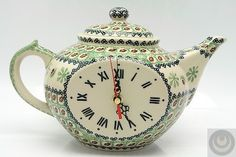 chinese  teapot clock | Liter Teapot Clock ~ Tea Time Anyone?