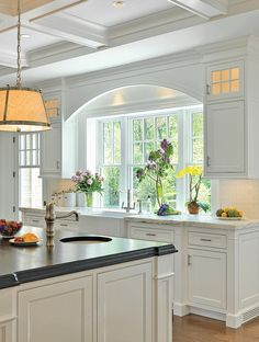 Beautiful kitchen lights