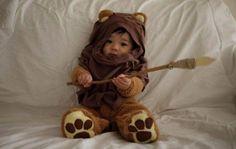 Ewok Baby Costume!